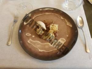Nocciola, nocciola, nocciola dessert at Cannavacciuolo Bistrot Torino - stella Michelin