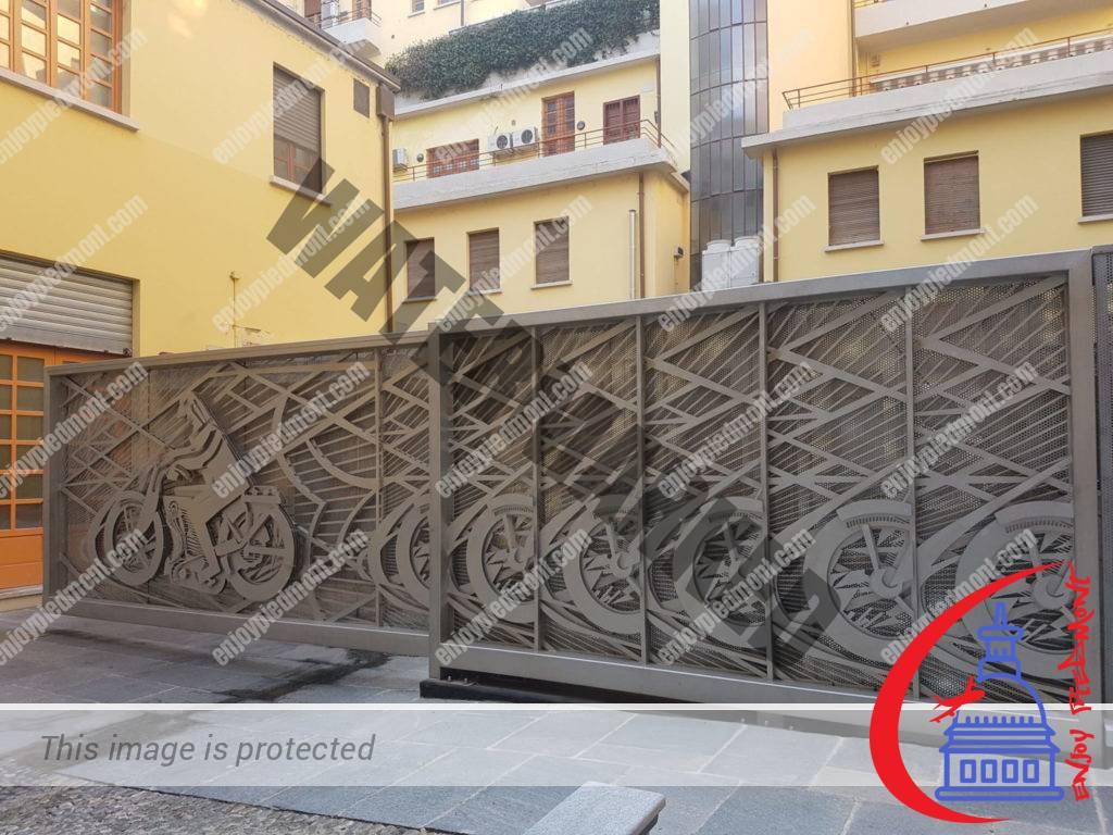 Cancello Futurista - Richi Ferrero