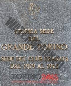 Plaque - Torino FC