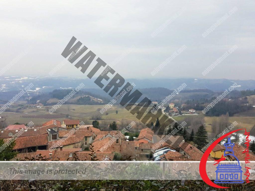 La vista dal Belvedere Motta - Albugnano