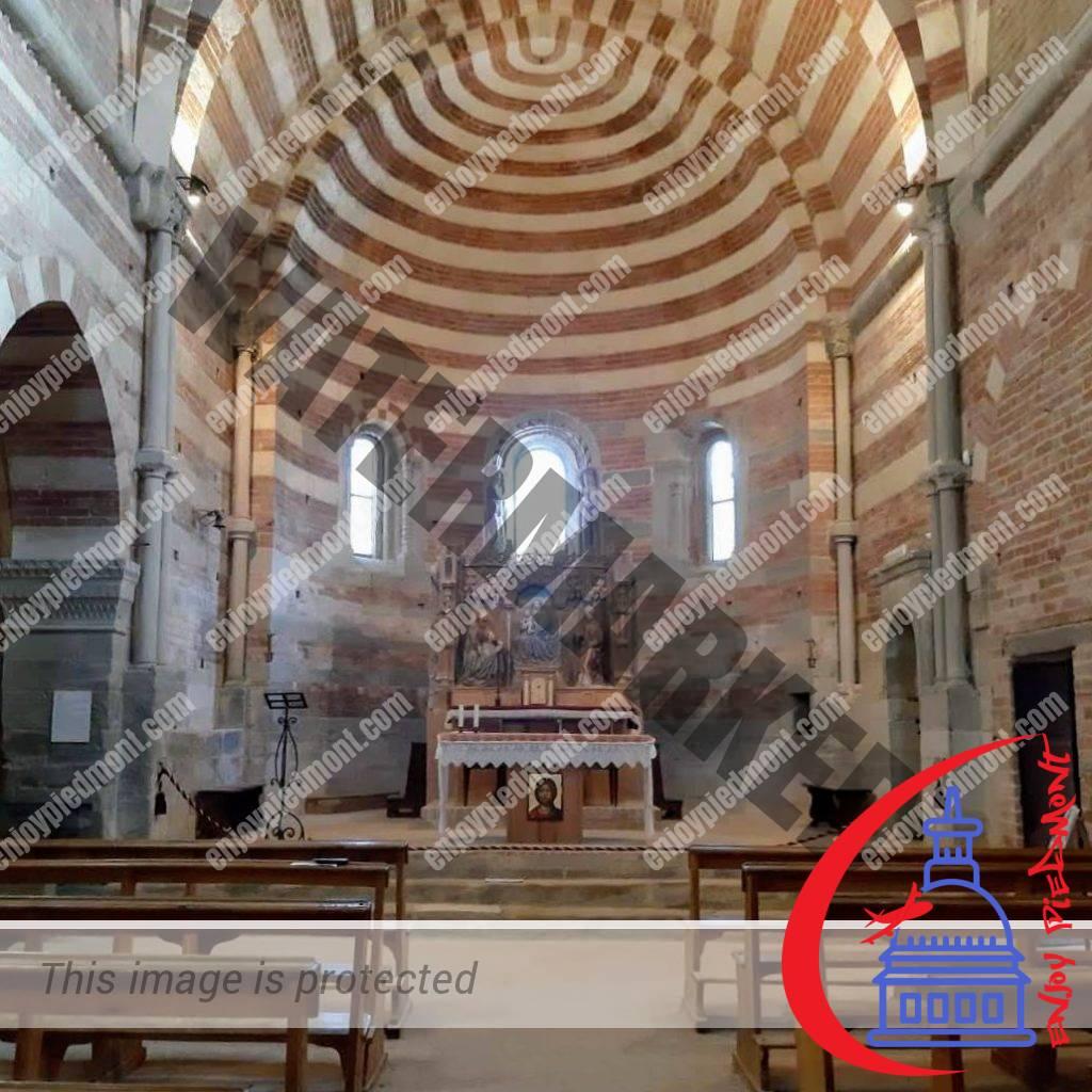 Inside the Canonica of Vezzolano