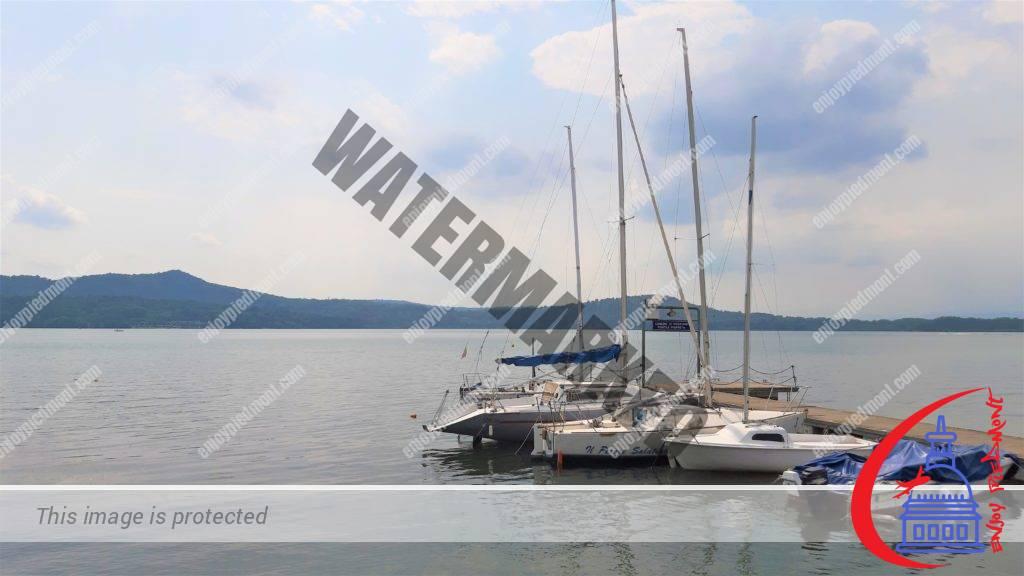 Boats on Lake Viverone