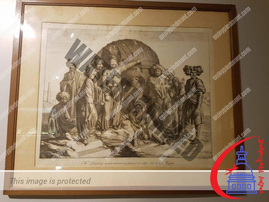 Bernardino Drovetti - Egyptian Museum - Turin