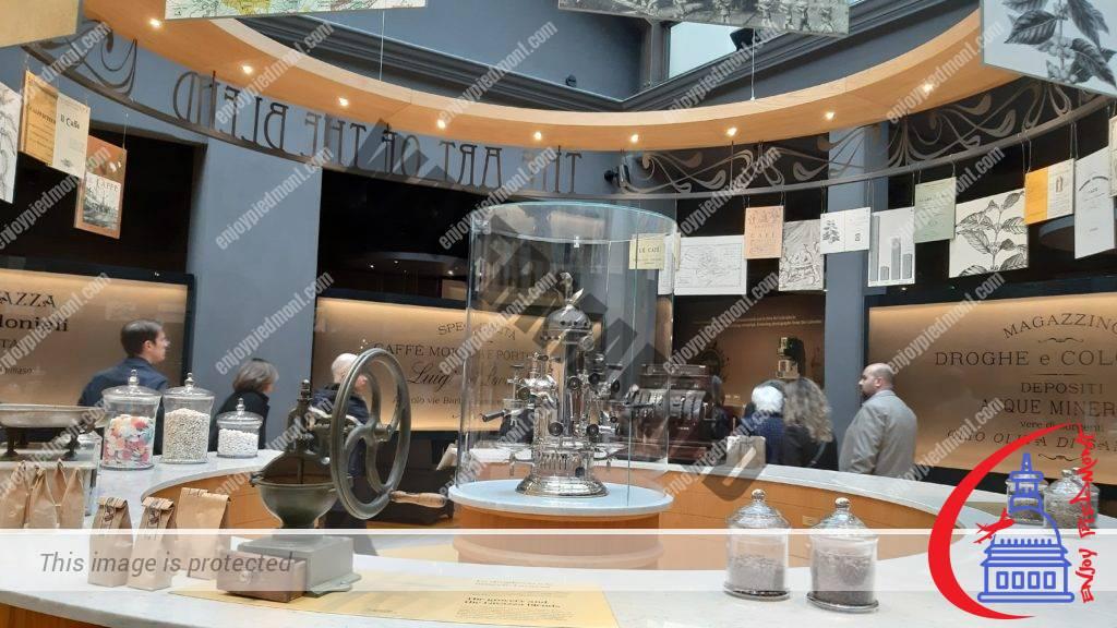 A reconstruction of Luigi Lavazza's grocery shop - Lavazza Museum