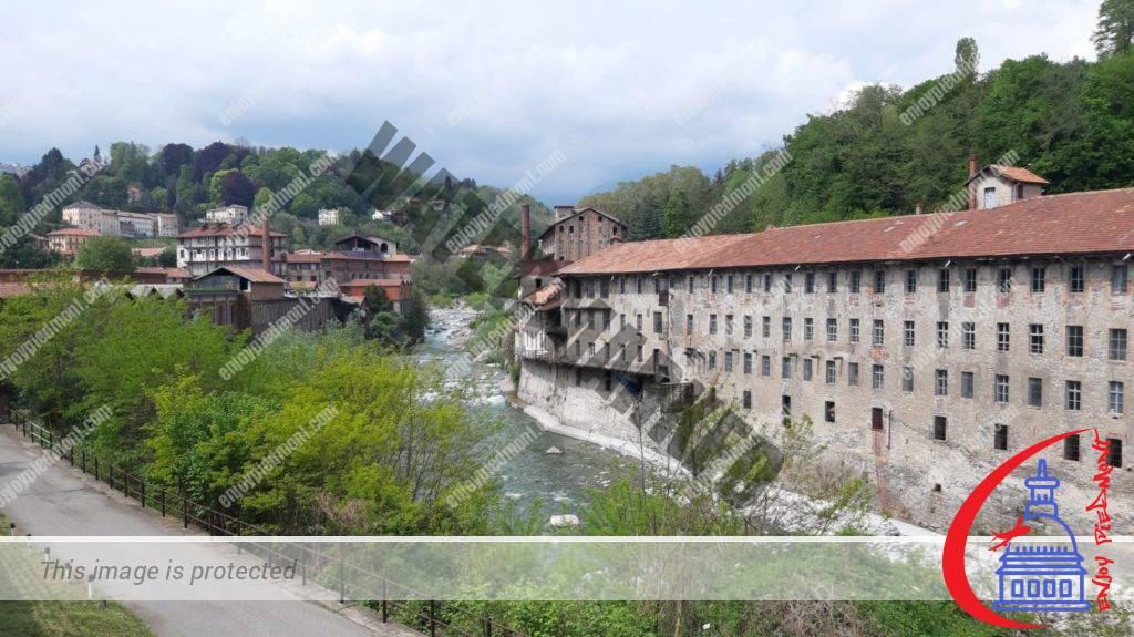 Cittadellarte - Pistoletto Foundation in the ex-wool mill Trombetta on the Cervo river