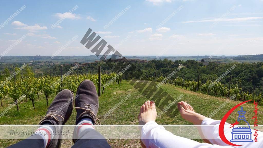 The view from the Big Bench - Rosignano Monferrato