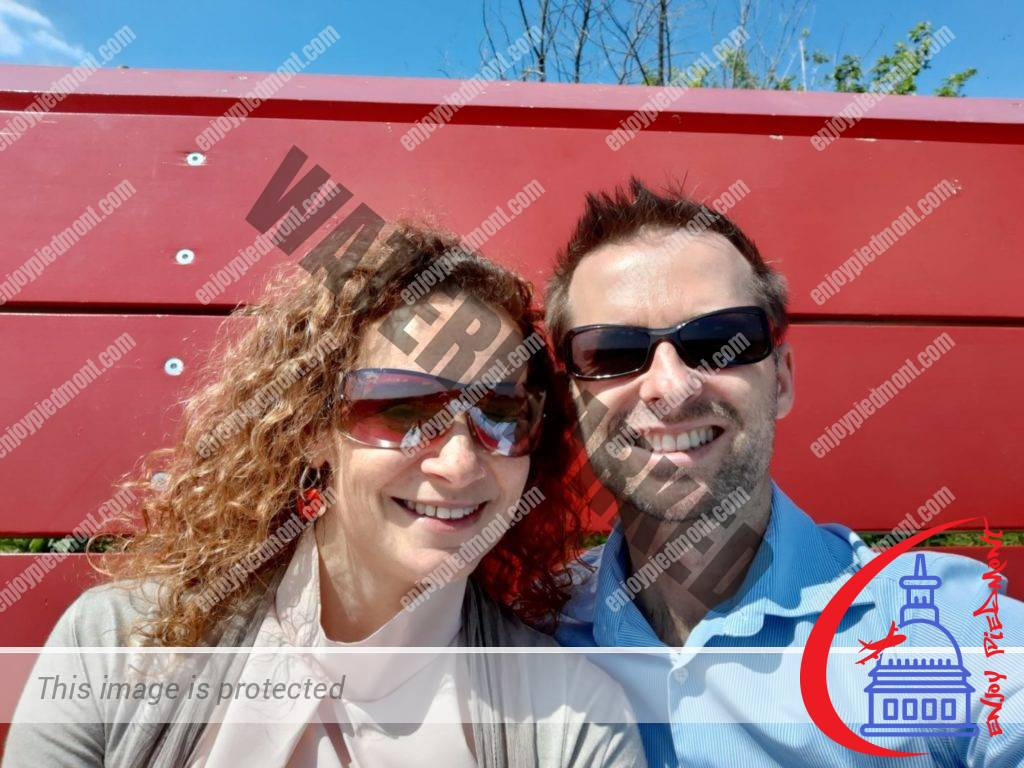 Us at the Big Bench - Rosignano Monferrato