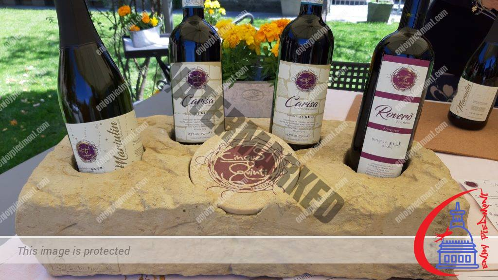The wines of Cinque Quinti winery