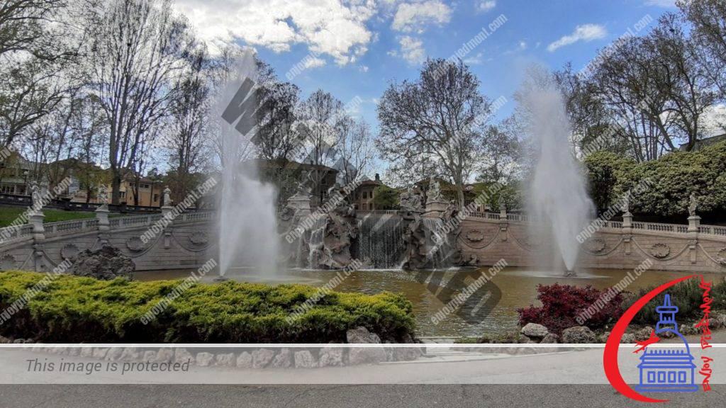 Fontana dei Mesi - Parco Valentino
