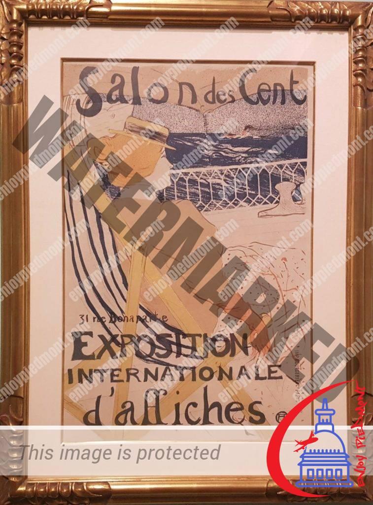 Art Nouveau - Poster for the Salon des Cent - Henri de Toulouse-Lautrec