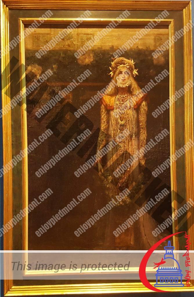 Art Nouveau - Sarah Bernhardt on stage - Georges Clairin