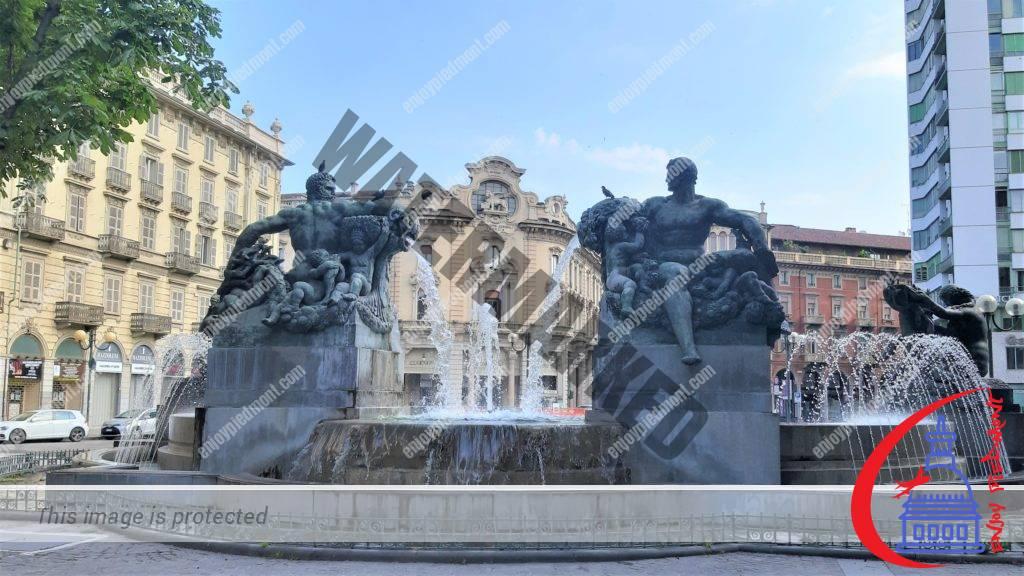Top Things to Do in Turin - Piazza Solferino - Fontana Angelica delle Quattro Stagioni