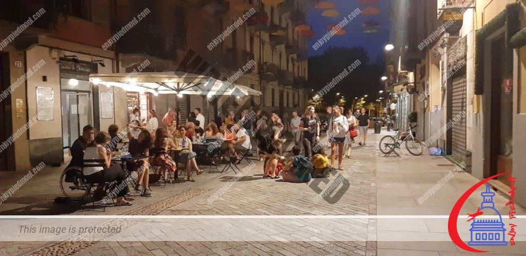 Piolino Wine Bar and Cucina di Damasco Syrian Restaurant in Monferrato St