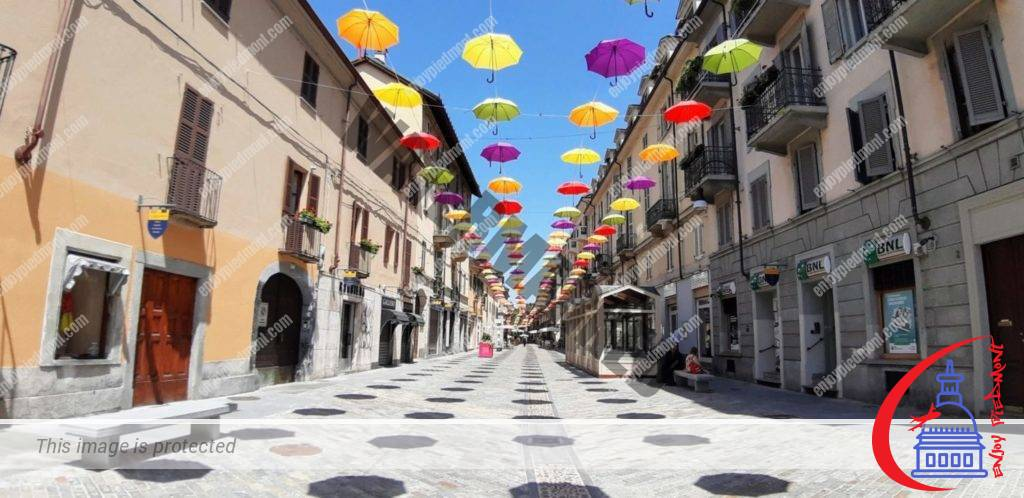 Umbrellas in Monferrato St