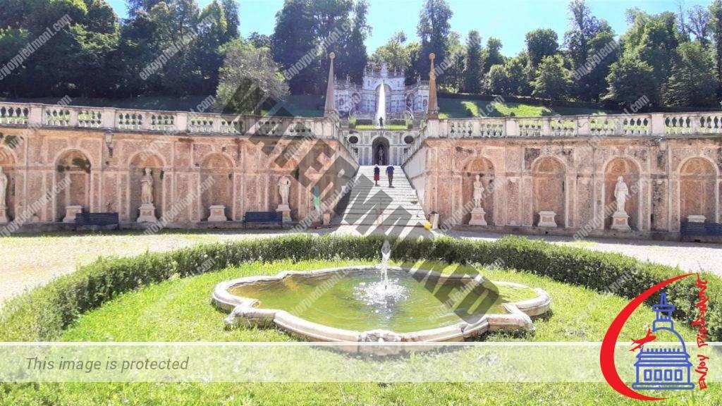 Villa della Regina - fountain