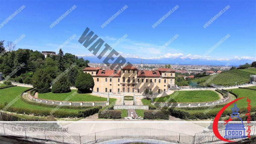 Villa della Regina - view