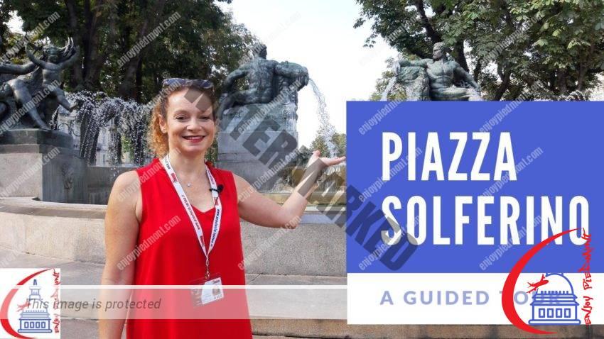 Piazza Solferino - YouTube Thumbnail (eng)