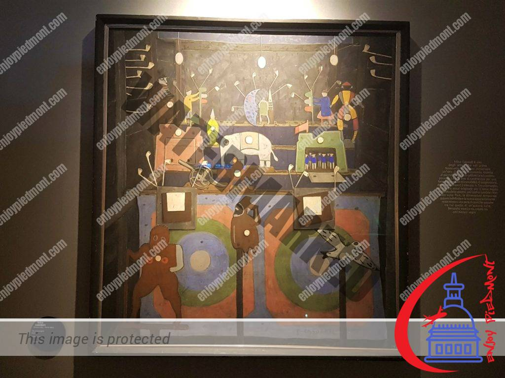 12 - Madama Palace - Artworks in the Exhibition