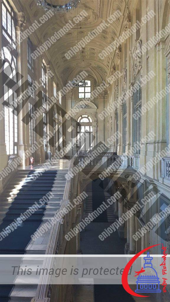 4 - Grand Staircase of Madama Palace