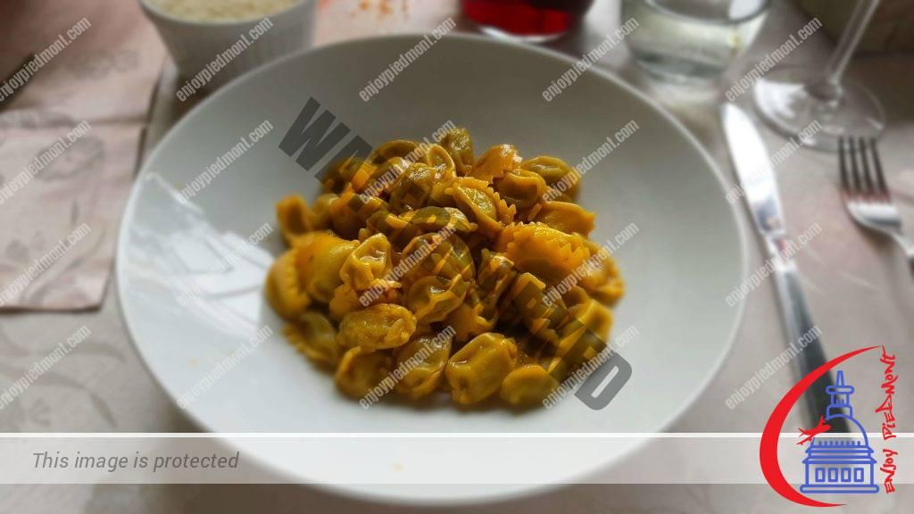 Revello - Ristorante del Bramafam - Plin with Butter & Sage Sauce