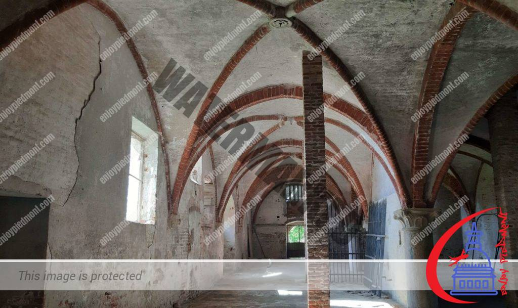 Staffarda Abbey - Monks' quarters