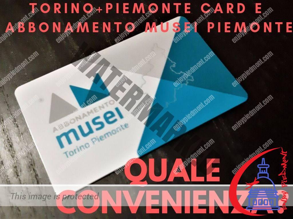 Torino Piemonte Card e Abbonamento Musei Piemonte Catre Musei