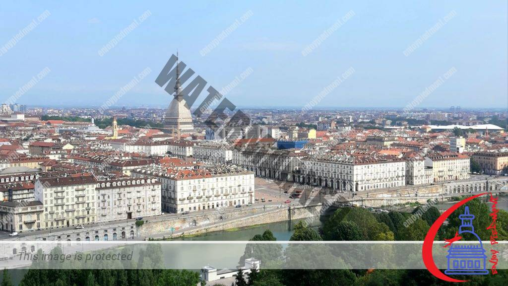 View of Turin from Monte dei Cappuccini