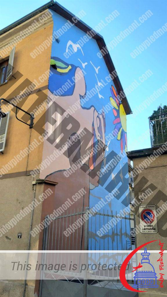 Murals and urban decorations at the MAU