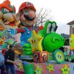 Carnival parade float